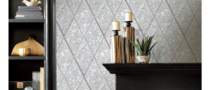 Freshwater Shell Rhombus Mosaic Tile pictures & photos