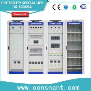 Electricity Special UPS with for Power Plant 20kVA/30kVA/40kVA pictures & photos