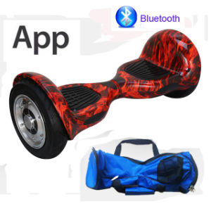 APP Cellphone Control 10inch Hoverboard Smart Balance Scooter Electric Skateboard Electric Scooter pictures & photos