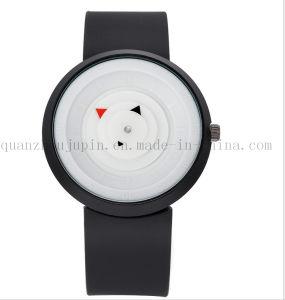 OEM Logo Hot Sale Minimalist Wrist Silicone Sport Quartz Watch pictures & photos