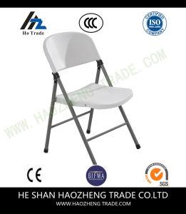 Hzpc057 Contoured Plastic Folding Chair pictures & photos