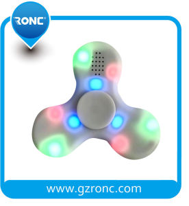 New Colorful Light Tri-Spinner LED Fidget Spinner for EDC Toys pictures & photos