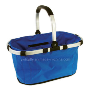 Collapsable Shopping Carry Basket for Supermarket / Supermarket Shelf pictures & photos