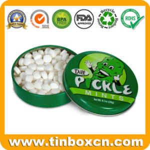 Round Food Can for Fruit Candy, Metal Tin Can Container pictures & photos