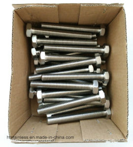 Monel 400 Asme B 18.2.1 Hex Head Cap Screw pictures & photos