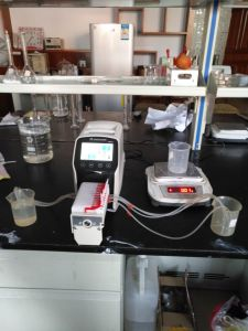 Laboratory Chemicals Peristaltic Dosing Pump pictures & photos