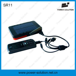 Solar Run Portable Powerbank with LED Light pictures & photos