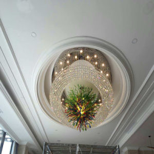 Big Size Round Luxury and Morden Crystal Project Lamp for Hotel Decoration pictures & photos