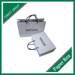 Matt Laminated Paper Bag with Handle (FP8039201) pictures & photos