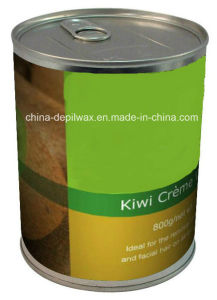 800g Can Soft Depilatory Wax Kiwi Flavor Creme Wax pictures & photos