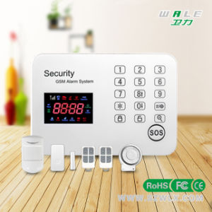 2015 New Colour Screen Wireless Touch Keypad GSM Alarm System pictures & photos