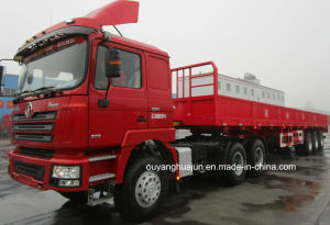 12.5 Meters Flatbed Semitrailer with Side Wall pictures & photos