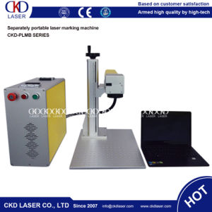 20W Galvanometer Scanner Optical Fiber Laser Marking Machine for Sale pictures & photos
