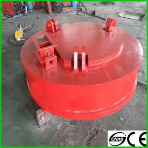 Round Type Electric Lifting Magnet Lifter for Steel Scrap pictures & photos