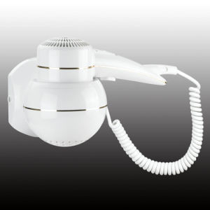 Newest White Home Appliance Wall Mounted Hair Dryer & Household & Hotel Bathroom Appliance pictures & photos