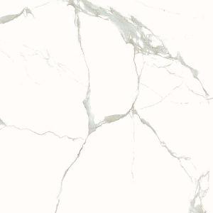 60X60cm White Color Marble Design Full Polished Glazed Porcelain Floor Tile