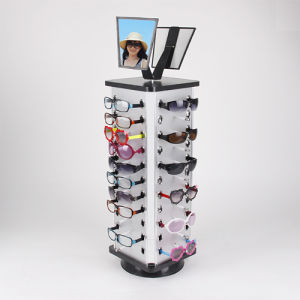 Expedited Shipping Acrylic Rotating Sunglass Display Stand Holder 36 Pairs pictures & photos