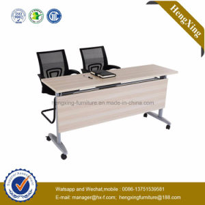 Cheap Student Desk and Chair Folding Metal Wooden School Furniture (HX-5D141) pictures & photos
