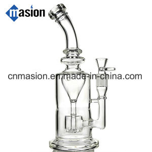 High Quality Recycler Oil Rig Glass Water Pipe (EY001) pictures & photos