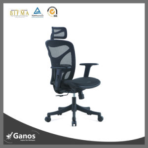 MID Back Mesh Office Chair with Headrest pictures & photos
