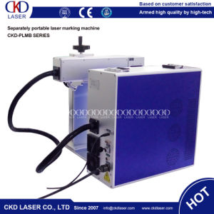 Separately Small Portable Fiber Laser Marking Machine for Metal Non Metal pictures & photos