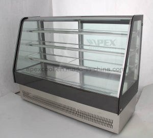 European Style High Quality Glass Cake Deli Showcase Cooler with Ce, CB, Saso pictures & photos