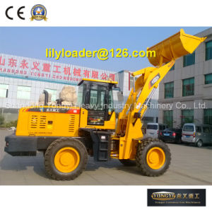 Chinese Manufacturer Front End Wheel Loader with Cheap Prices