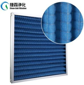 Foldaway Panel Filter with Galvanized Frame pictures & photos