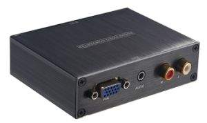 VGA+R/L Audio+3.5mm Audio to HDMI Converter pictures & photos