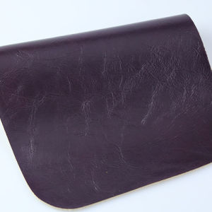 Fashion Embossed Synthetic PU PVC Leather for Furniture Sofa Handbag Shoe pictures & photos