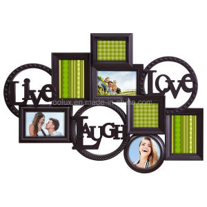Plastic Multi Openning Home Decoration Collage Love Photo Frame pictures & photos