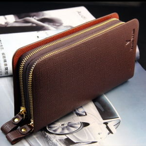 New Mobile Phone Bag Wallet Long Lines Beeger Casual Double Zipper Bag pictures & photos