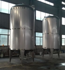 Capacity of 10 Ton Stainless Steel Storage Tank for Alcohol