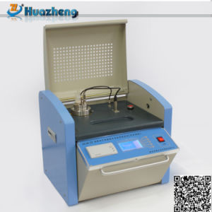 Insulation Oil DC Resistivity and Oil Dielectric Loss Factor Tester pictures & photos