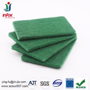 Customized Kitchen Cleaning Eco-Friendly Nylon Abrasive Scouring Pad pictures & photos