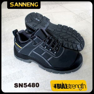 Split Nubuck Leather Safety Shoes with Ce Certified Sole (SN5480) pictures & photos