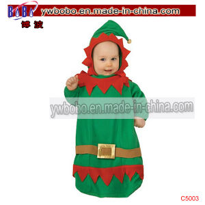 Babydoll Christmas Costumes Favor Supply Holiday Decoration (C5017) pictures & photos