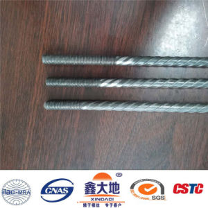 9.5mm 1570MPa Ribbed Low Relaxation High Tensile Prestressed Concrete Wire pictures & photos