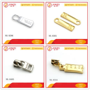 Custom-Made Branded Metal Zipper Pullers for Quality Leather Products pictures & photos