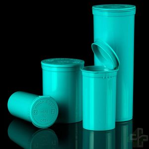 Aqua 30 DRAM Pop Top Containers - 160 PCS Per Case pictures & photos