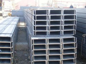 C Channel Steel Price/Steel Channel Sizes/Slotted C Channel Q235 pictures & photos