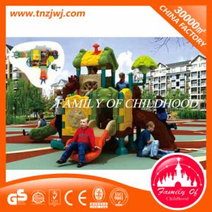 Ce Certificated Tunnel Slides Plastic Children Outdoor Playground pictures & photos