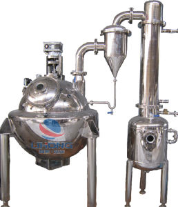 Stainless Steel Steam Heating Roundness Vacuum Concentrating Machine with Agitator pictures & photos