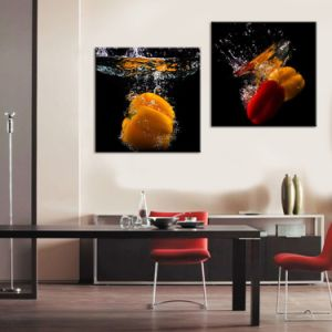 China Factory Wholesale Abstract Canvas Printing pictures & photos