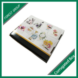 Custom Folding Color Corrugated Gift Box (FOREST PACKING 014) pictures & photos
