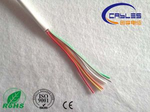High Quality 2 Core 0.5mm2 Fire Proof Unshielded Alarm Cable pictures & photos