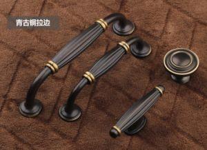 Barn Door Hardware Brass Door Handle Europe Black Furniture Handle pictures & photos