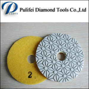 Angle Grinder Polishing Pad for Granite pictures & photos