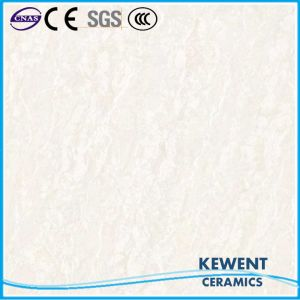 Good Quality Natural Stone Pattern White Color Polished Porcelain Floor Tile pictures & photos