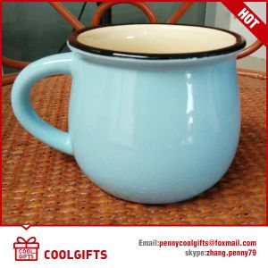 Stoneware Ceramic Coffee Mug for Advertising pictures & photos